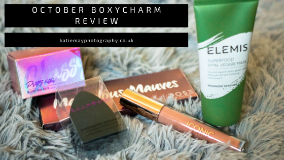 October Boxycharm review