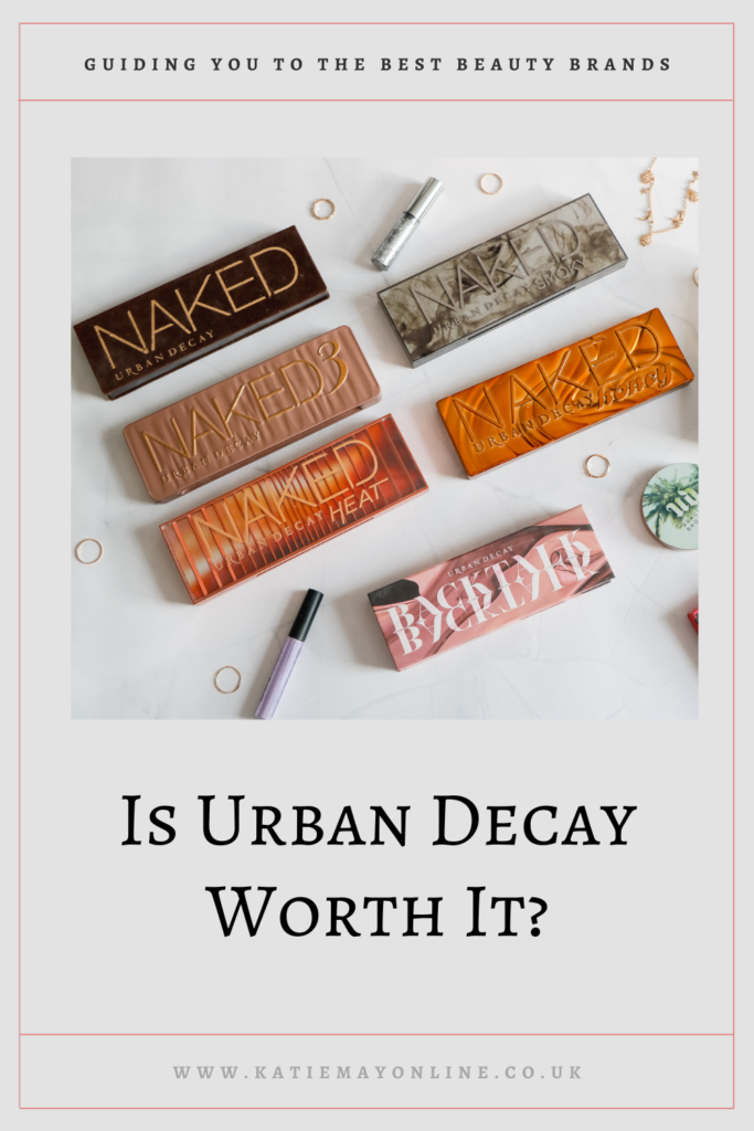 is urban decay worth it? Pin it for later